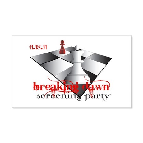 Breaking Dawn Screening Party 22x14 Wall Peel