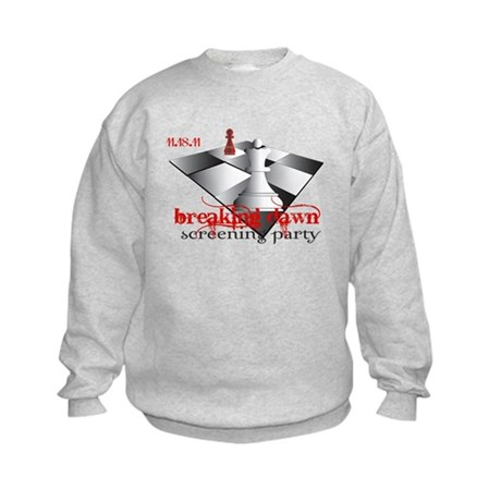 Breaking Dawn Screening Party Kids Sweatshirt