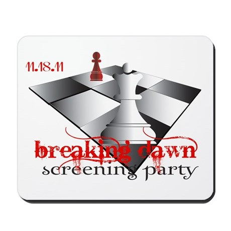 Breaking Dawn Screening Party Mousepad