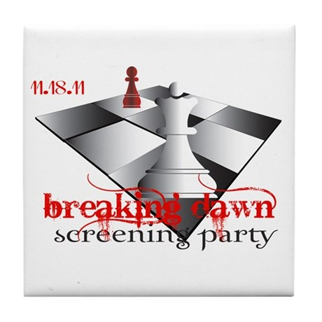 Breaking Dawn Screening Party Tile Coaster