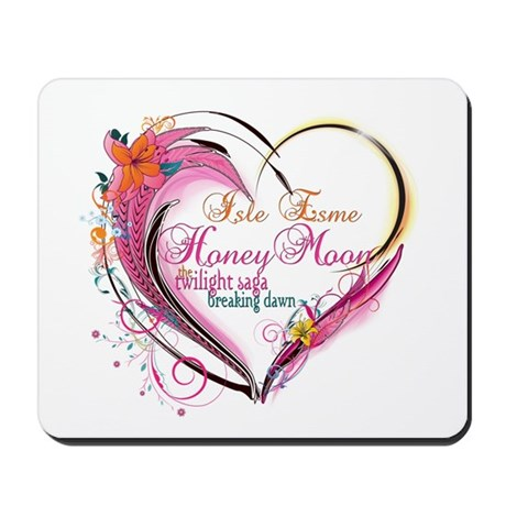 Isle Esme Honeymoon Mousepad