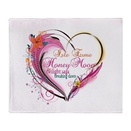 Isle Esme Honeymoon Throw Blanket