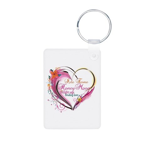 Isle Esme Honeymoon Aluminum Photo Keychain