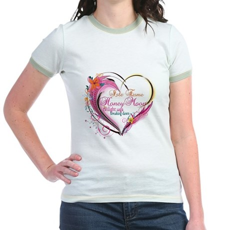 Isle Esme Honeymoon Jr. Ringer T-Shirt