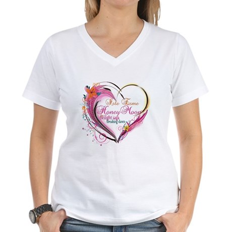 Isle Esme Honeymoon Women's V-Neck T-Shirt