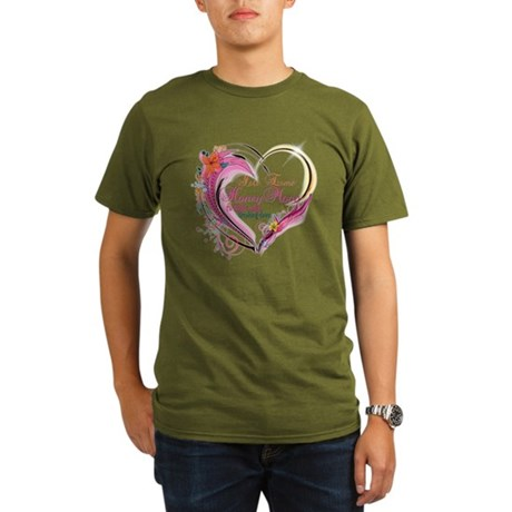 Isle Esme Honeymoon Organic Men's T-Shirt (dark)