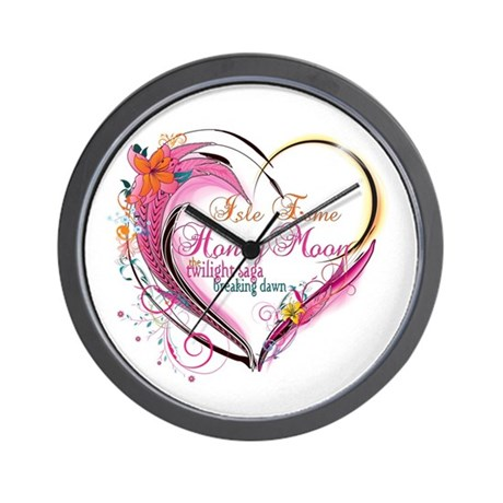 Isle Esme Honeymoon Wall Clock