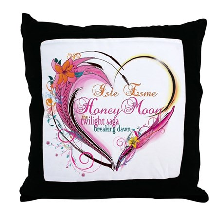 Isle Esme Honeymoon Throw Pillow