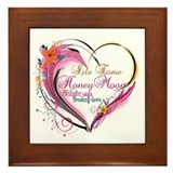 Isle Esme Honeymoon Framed Tile