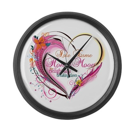 Isle Esme Honeymoon Large Wall Clock