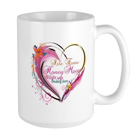 Isle Esme Honeymoon Large Mug
