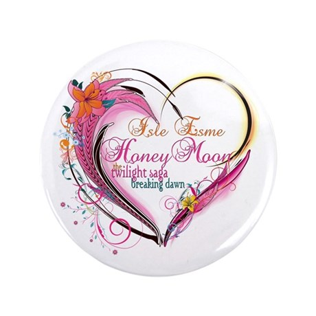 "Isle Esme Honeymoon 3.5"" Button"