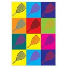 Racquetball Pop Art