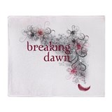 Breaking Dawn feather Throw Blanket