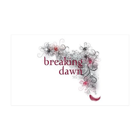 Breaking Dawn feather 35x21 Wall Decal