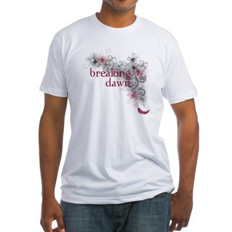 Breaking Dawn feather Fitted T-Shirt