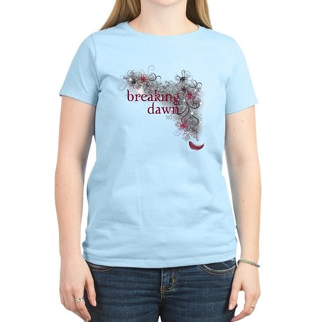 Breaking Dawn feather Women's Light T-Shirt