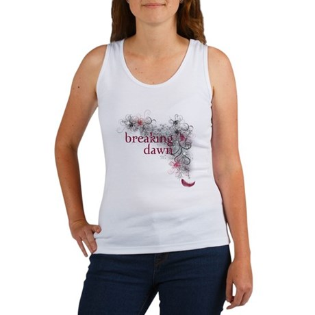 Breaking Dawn feather Women's Tank Top