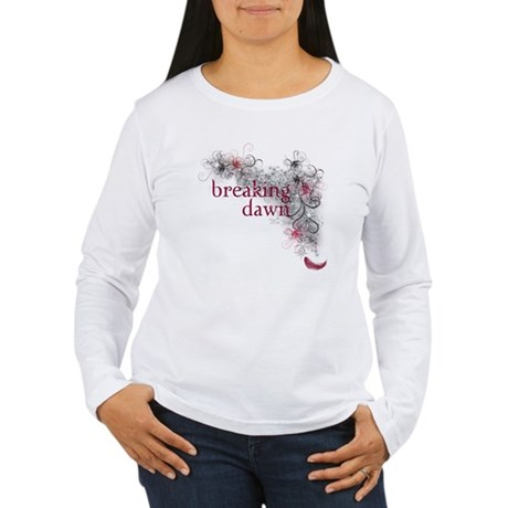 Breaking Dawn feather Women's Long Sleeve T-Shirt
