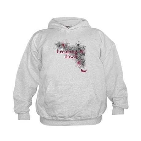 Breaking Dawn feather Kids Hoodie