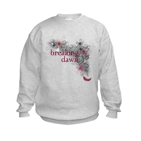 Breaking Dawn feather Kids Sweatshirt