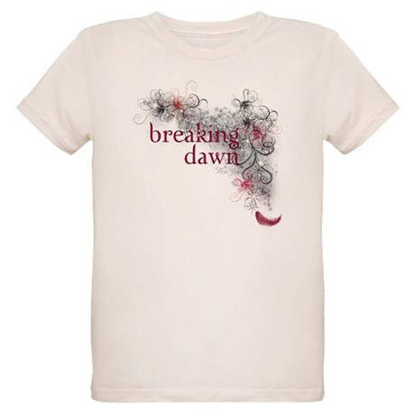 Breaking Dawn feather Organic Kids T-Shirt
