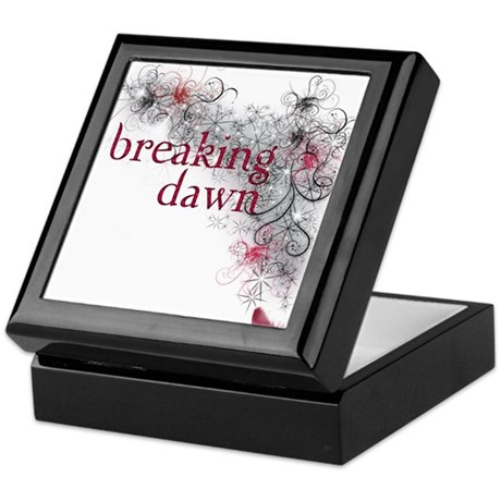 Breaking Dawn feather Keepsake Box