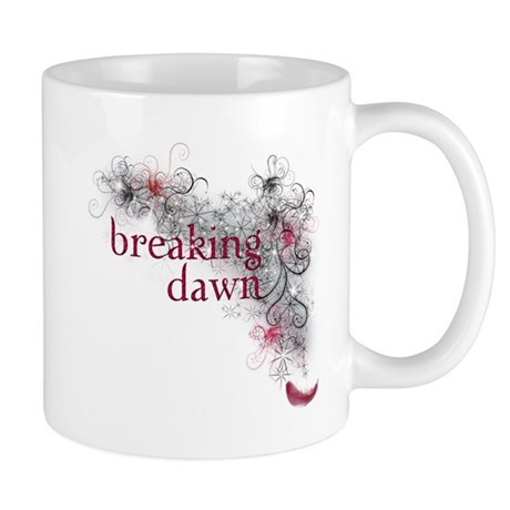Breaking Dawn feather Mug
