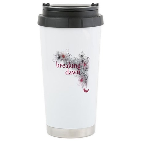 Breaking Dawn feather Stainless Steel Travel Mug