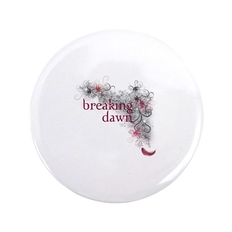 "Breaking Dawn feather 3.5"" Button"
