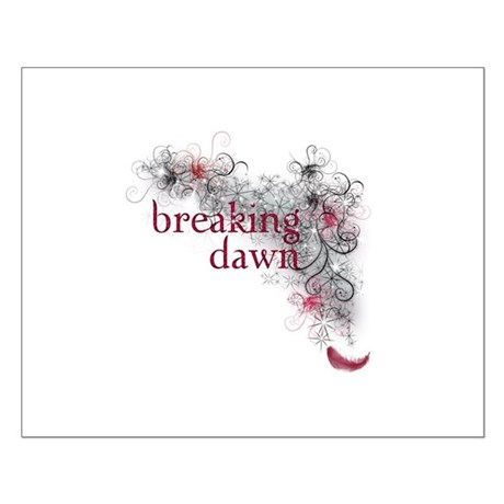Breaking Dawn feather Small Poster