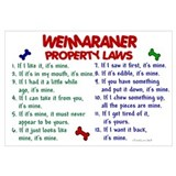 Weimaraner Property Laws 2