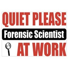 Forensic Scientist Work
