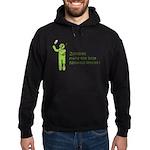 Zombies make the best Neuroscientists Hoodie