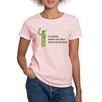 Zombies make the best Neuroscientists Women Shirt