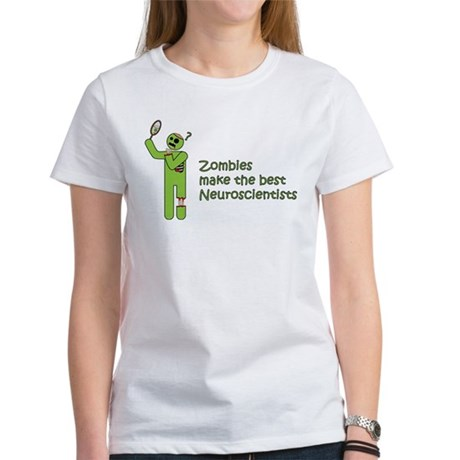 Zombies make the best Neuroscientists Women Shirt