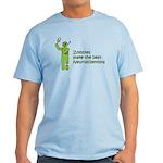 Zombies make the best Neuroscientists Light Shirt
