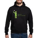 Zombie Neuroscientist Hoodie (dark)