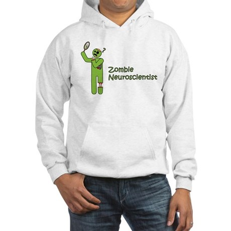 Zombie Neuroscientist Hooded Sweatshirt