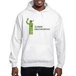 Zombie Neuroscientist Hooded Sweatshirt