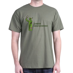 Zombie Neuroscientist Dark T-Shirt