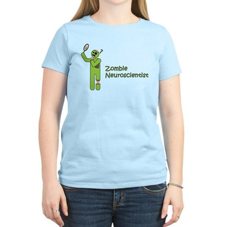 Zombie Neuroscientist Women's Light T-Shirt