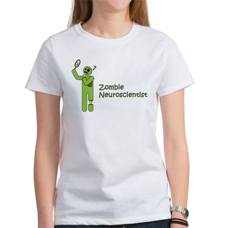 Zombie Neuroscientist Women's T-Shirt