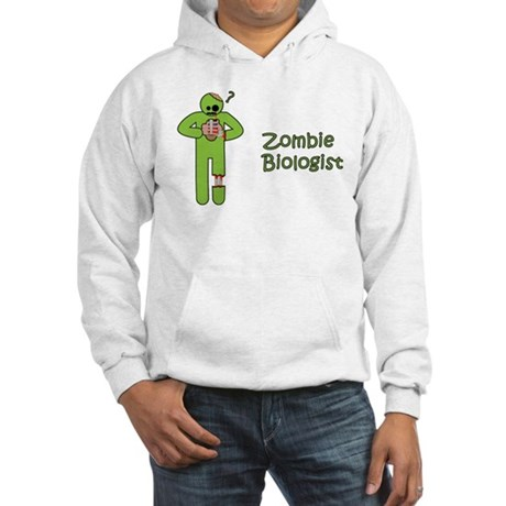 Zombie Biologist Hooded Sweatshirt