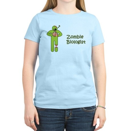 Zombie Biologist Women's Light T-Shirt