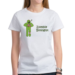 Zombie Biologist Women's T-Shirt