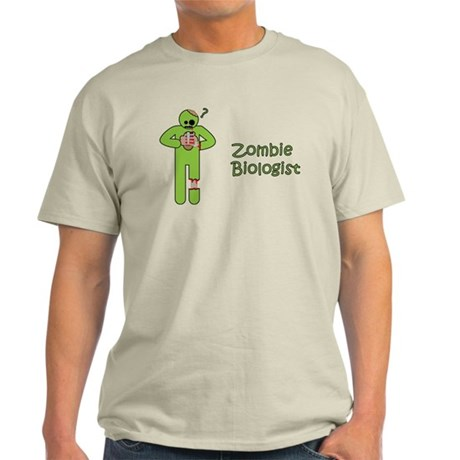 Zombie Biologist Light T-Shirt