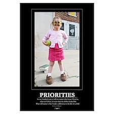 : PRIORITIES- 11x14 Print