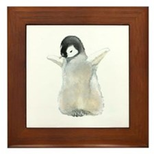 Emperor Penguin Framed Tile
