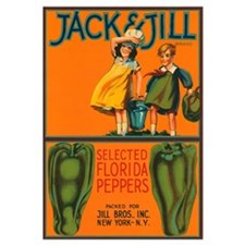 Vintage Jack and Jill Peppers